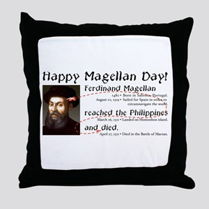 Magellan Day -  Throw Pillow
