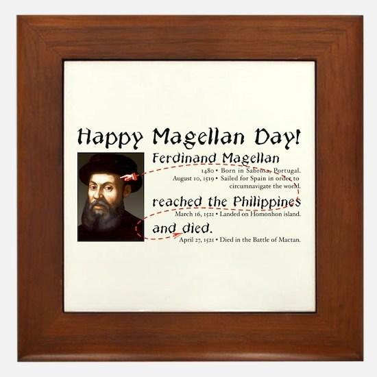 Magellan Day -  Framed Tile