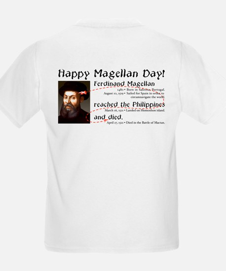 Magellan Day -  Kids T-Shirt