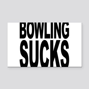 bowlingsucksblk Rectangle Car Magnet