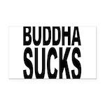 buddhasucks Rectangle Car Magnet