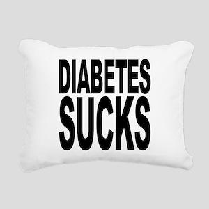 diabetessucks Rectangular Canvas Pillow
