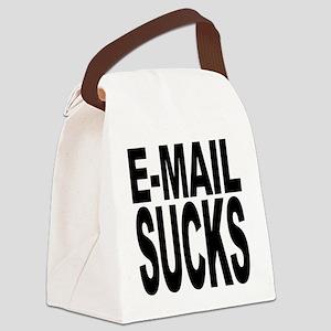 emailsucks Canvas Lunch Bag