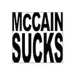 mccainsucksblk Square Sticker 3