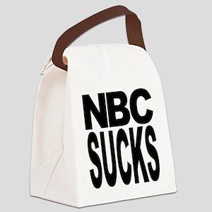 nbcsucksblk Canvas Lunch Bag