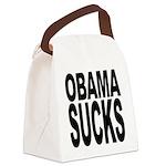 obamasucksblk Canvas Lunch Bag