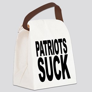 patriotssuckbk Canvas Lunch Bag
