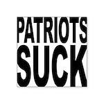 patriotssuckbk Square Sticker 3