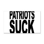 patriotssuckbk Rectangle Car Magnet