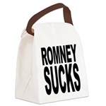 romneysucksblk Canvas Lunch Bag