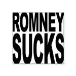 romneysucksblk Square Sticker 3
