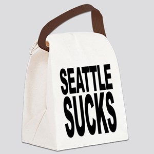 seattlesucks Canvas Lunch Bag