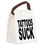 tattoossuck.png Canvas Lunch Bag