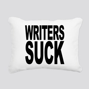 writerssuckblk Rectangular Canvas Pillow