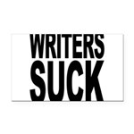 writerssuckblk.png Rectangle Car Magnet