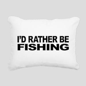 mssidratherbefishing Rectangular Canvas Pillow