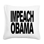 impeachobama Square Canvas Pillow