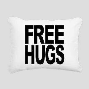 freehugs-blk Rectangular Canvas Pillow