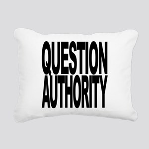 questionauthorityblockblk Rectangular Canvas P