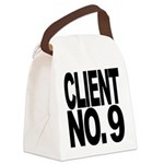 clientno9mssblk Canvas Lunch Bag