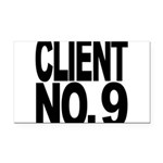 clientno9mssblk Rectangle Car Magnet