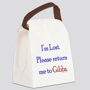 Return Me to Gibbs Canvas Lunch Bag