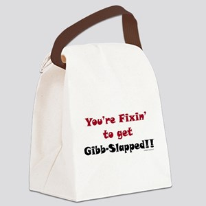 Fixen To Get G-slapped Canvas Lunch Bag