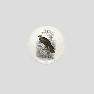 Marsh Harrier Bird Mini Button