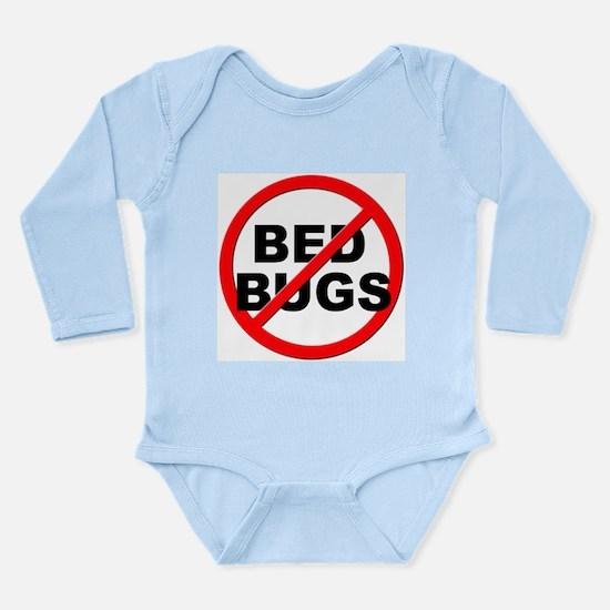 Anti / No Bed Bugs Long Sleeve Infant Bodysuit