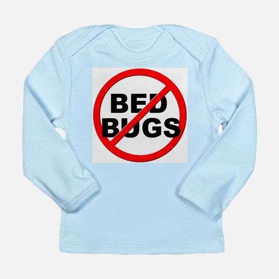 Anti / No Bed Bugs Long Sleeve Infant T-Shirt