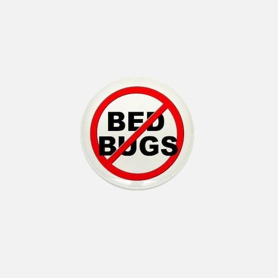 Anti / No Bed Bugs Mini Button
