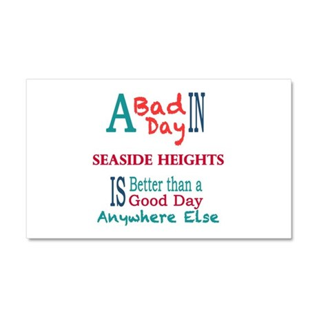 Seaside Heights Car Magnet 20 x 12