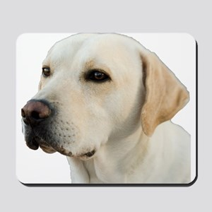 Yellow Lab Head Mousepad
