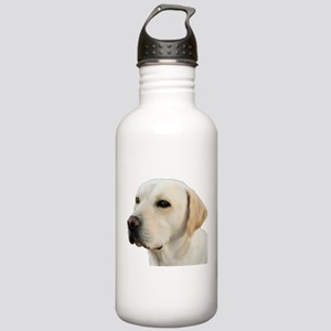 Yellow Lab Head Stainless Water Bottle 1.0L