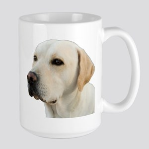 Yellow Lab Head Large Mug