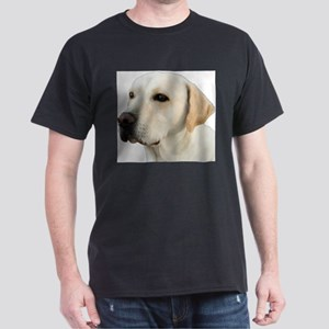 Yellow Lab Head Dark T-Shirt