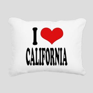 ilovecaliforniablk Rectangular Canvas Pillow