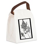 Flower Scepters #1 Canvas Lunch Bag