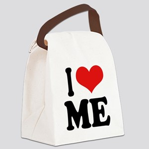 ilovemeblk Canvas Lunch Bag