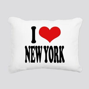 ilnewyorkblk Rectangular Canvas Pillow