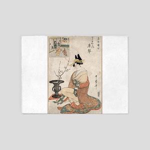 The Courtesan Karakoto of the house of Choji-ya at