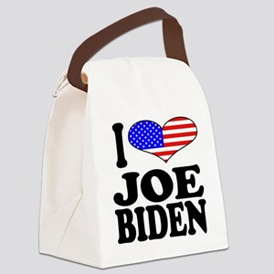 ilovejoebidenblk Canvas Lunch Bag
