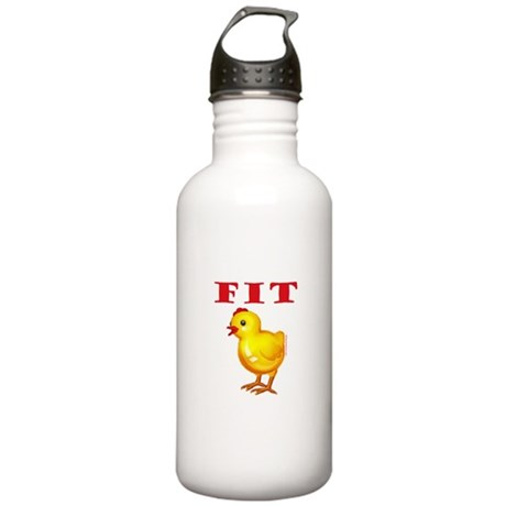 Fit Chick Stainless Water Bottle 1.0L