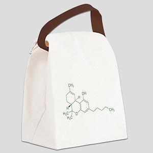 Tetrahydrocannabinol Canvas Lunch Bag