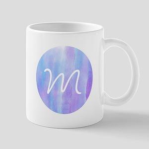 Sigma Alpha Watercolor Monogram 11 oz Ceramic Mug