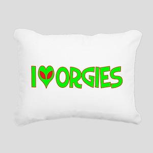 ialienloveorgies Rectangular Canvas Pillow