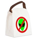 nomorealiensblkeyes Canvas Lunch Bag