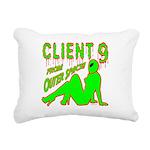 client9fromouterspace Rectangular Canvas Pillo
