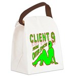 client9fromouterspace Canvas Lunch Bag