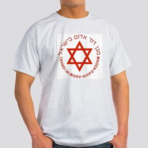 Magen David Adom Ash Grey T-Shirt